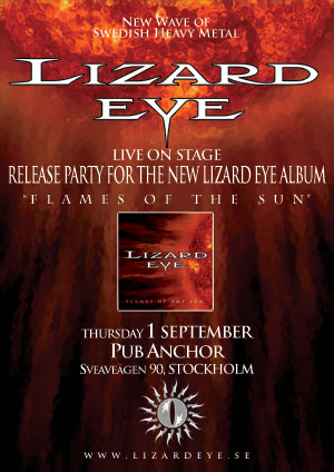 Lizard Eye release party